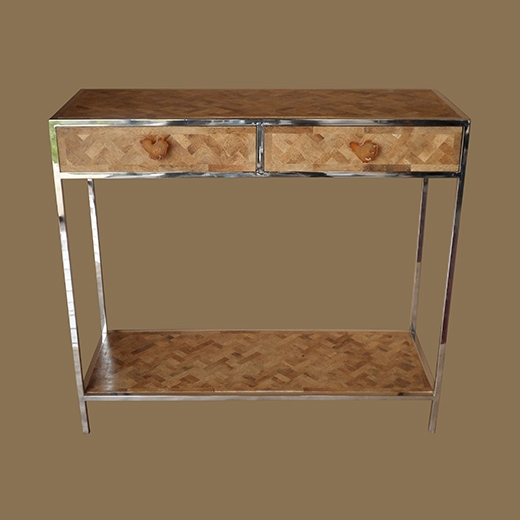 Bamboo Root Weave Console (2+1)