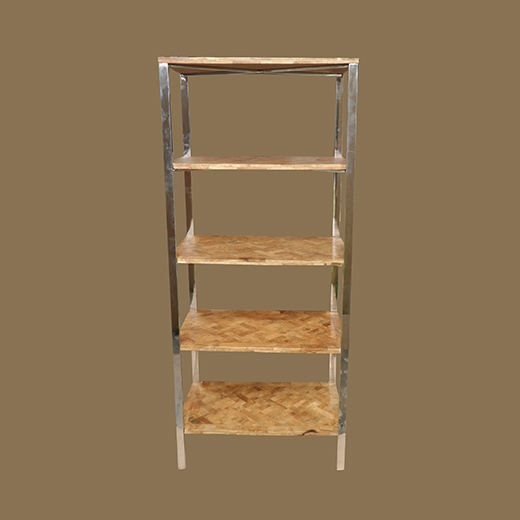 Bamboo Root Weave Shelve (4 Levels)