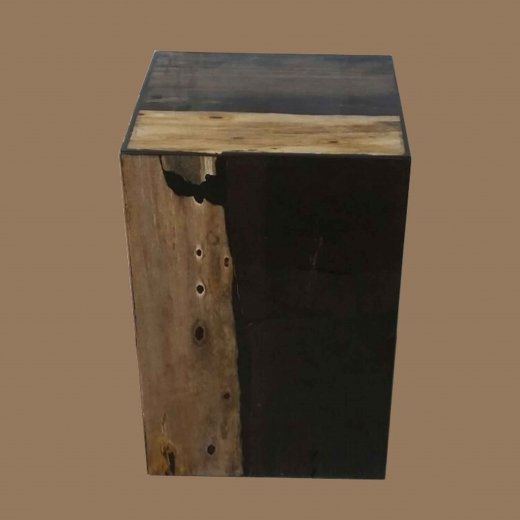 PW Block laminated square stool