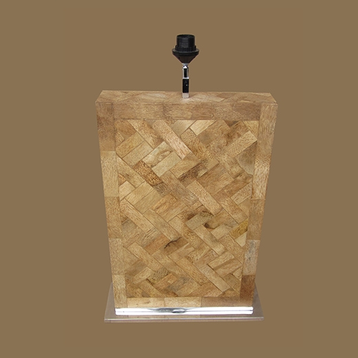 Bamboo Root Weave Lamp Large
