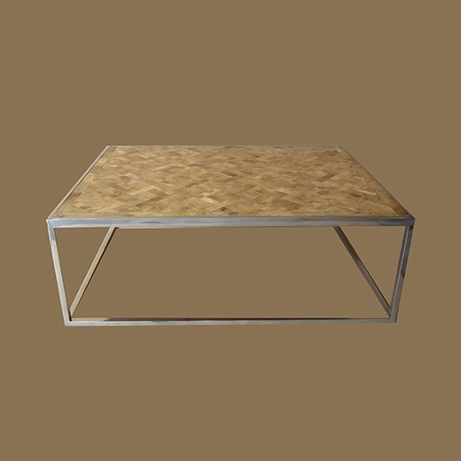 Bamboo Root Weaved Coffee Table