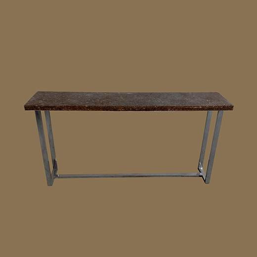 Chipped Glass Resin (Thick 4cm) Console Table