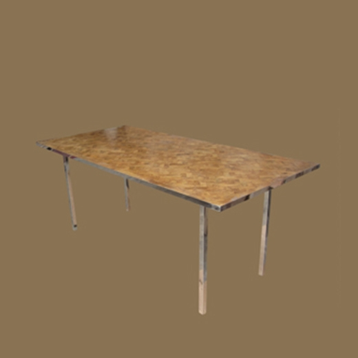 Bamboo Root Weave Dining Table